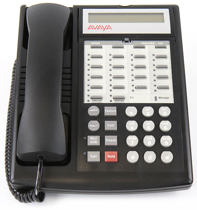 avaya partner 18d telephone rh metrolinedirect com avaya partner 18d manual printable Avaya 18D Phone User Manual