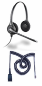 Plantronics HW261N Headset Package for Polycom SoundPoint IP and VVX Phones