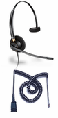 Plantronics HW510 Headset Package for Polycom SoundPoint IP and VVX Phones