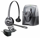 Plantronics SupraPlus CS351N Wireless Headset w/HL10 Lifter (70530-06)