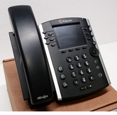 Polycom VVX 410 Business Media Phone (2200-46162-025) Grade B