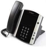 Polycom VVX 600 Business Media Phone (2200-44600-025) Grade B