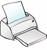 Printable Telephone Labels for Laser and Inkjet  Printers