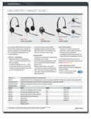 Shop By Plantronics Headset Product Line