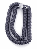 Standard Length Handset Cords for Avaya 2400, 4600, 5400, 5600 and Cisco 7900 Series (Blue-Gray) 5/pk.
