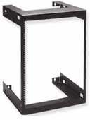 Wall Mount Data and Telecom Rack (15 RMS)