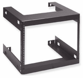 Wall Mount Data and Telecom Rack (8 RMS)