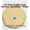 "12"" Flour Tortillas for Burritos, Quesadillas, Wraps by Romero's - image -1"