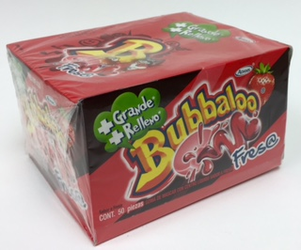 Adams Bubbaloo Bubble Gum Strawberry (FRESA)