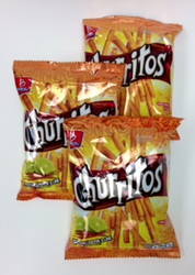 Barcel Churritos  Red Chili Pepper and Lime (Pack of 3)