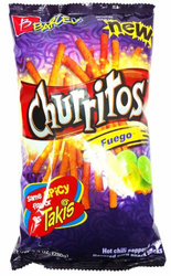 Barcel Churritos Fuego  (Pack of 3)