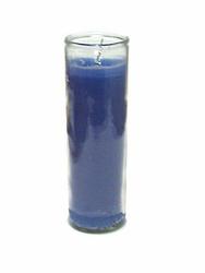 Blue Candle (Pack of 6)