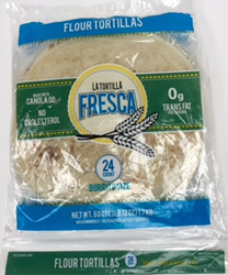 "Burrito Size Flour Tortillas by La Tortilla Fresca - 10"" (Pack of 2)"