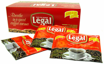 Café de Grano Legal Ground Coffee Blend (1 oz envelopes)
