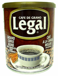 Cafe Legal Ground Coffee Blend with Caramelized Sugar and Cinnamon