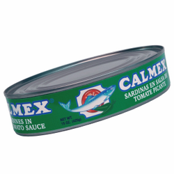 Calmex Sardines in Hot Tomato Sauce (Pack of 3)