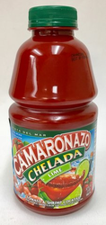 Camaronazo Chelada Lime Tomato and Shrimp Cocktail