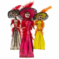 Catrina - Day of the Dead Doll for Dia de Muertos