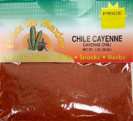 Cayenne Pepper by El Sol de Mexico