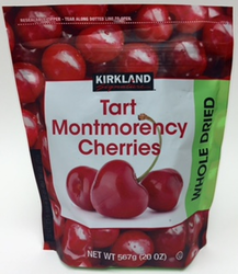 Cherries Tart Montmorency Cherry Whole Dried by Kirkland Signature