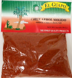 Chile de Arbol Molido Ground Chili