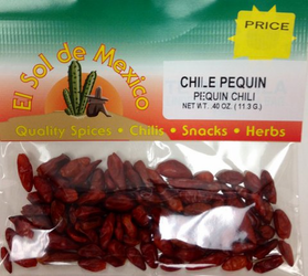 Chile Pequin Whole Dried Piquin Chili Pepper
