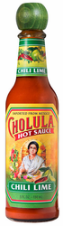 Cholula Hot Sauce with Chile and Lime