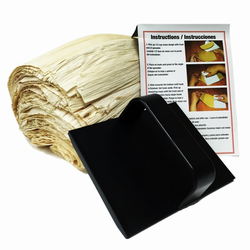 Corn Husks (1 lb) with Tamales Spreader and Award Winning Recipe
