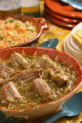Del Real Foods Chile Verde - Pork in Green Sauce (Packed in two 16oz pouches)