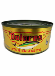 Dolores Tuna in Oil - Atun en Aceite Dolores (Pack of 3)