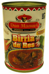Don Manuel Birria - Beef Stew- Ready to Serve No Preservatives