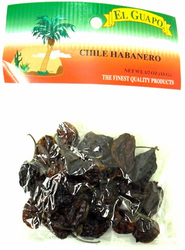 Dried Chile Habanero Chili Pods
