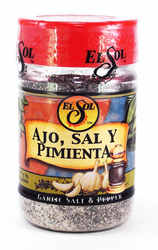 El Sol Garlic, Salt and Pepper Seasoning