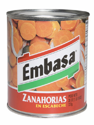 Embasa Carrots in Escabeche