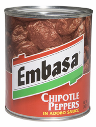 Embasa Chipotle Peppers in Adobo Sauce