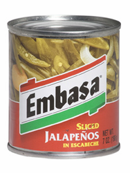 Embasa Sliced Jalapenos in Escabeche (Pack of 3)