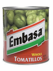 Whole Tomatillos by Embasa 98 oz