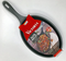 Fajita Skillet Seasoned Cast Iron Victoria Brand - image -1