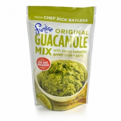 Frontera Original Guacamole Mix with Tangy Tomatillo + Green Chile + Garlic (Pack of 3)