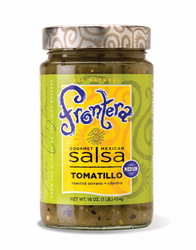 Frontera Tomatillo Salsa with Roasted Serrano and Cilantro