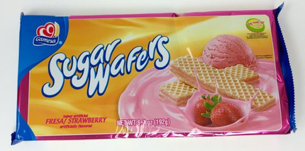 Gamesa Strawberry Wafers (Pack of 6)