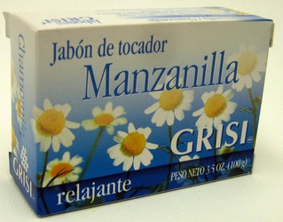 GRISI Manzanilla - Chamomile Bar Soap (Pack of 3)