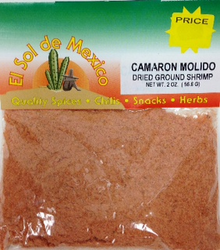 Ground Dried Shrimp by El Sol de Mexico