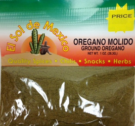 Ground Mexican Oregano by El Sol de Mexico