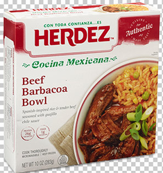 Herdez Beef Barbacoa Bowl (Pack of 3)