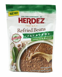 Herdez Instant Refried Beans Jalapeno (Pack of 3)