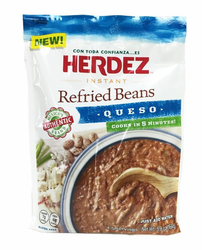 Herdez Instant Refried Beans Queso (Pack of 3)