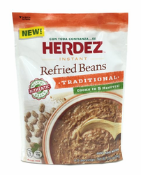 Herdez Instant Refried Beans Traditional (Pack of 3)