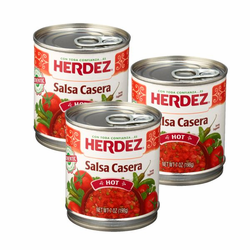 Herdez Mexican Salsa Casera (Pack of 3)