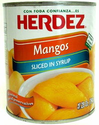 Herdez Sliced Mangos in Syrup
